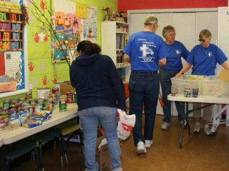 Food Pantry provides support to those in need/